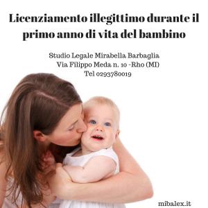 licenziamento-illegittimo-durante-il-primo-anno-di-vita-del-bambino